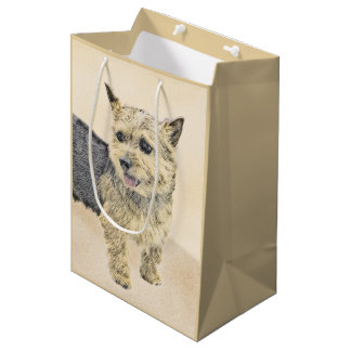 Norwich Terrier Medium Gift Bag