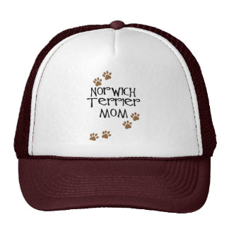 Norwich Terrier Mom for Norwich Terrier Dog Moms Mesh Hat