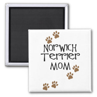 Norwich Terrier Mom for Norwich Terrier Dog Moms Square Magnet