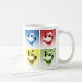 Norwich Terrier Pop Art Coffee Mug
