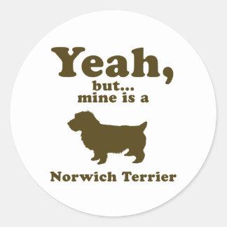 Norwich Terrier Stickers