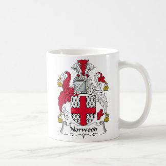 Norwood Family Crest Coffee Mug