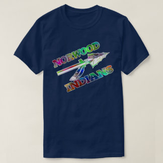 Norwood indians HighSchool ohio water color1 T-Shirt
