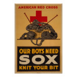 Nos garçons ont besoin de la guerre mondiale de Cr Posters