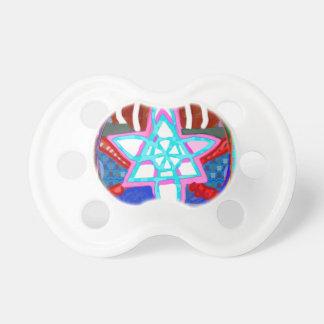 NOSA Karuna Reiki Graphic Healing Symbol Pacifier