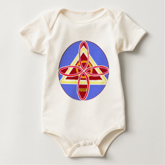 NOSA Karuna Reiki Healing Symbol Graphic Art Baby Bodysuit