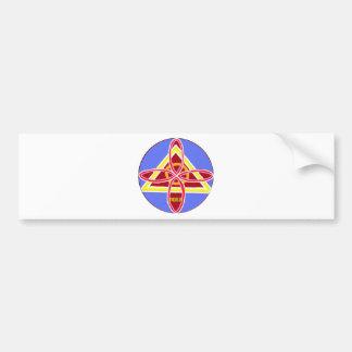 NOSA Karuna Reiki Healing Symbol Graphic Art Bumper Sticker