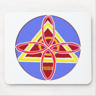 NOSA Karuna Reiki Healing Symbol Graphic Art Mouse Pad