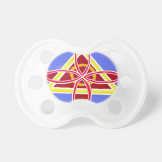 NOSA Karuna Reiki Healing Symbol Graphic Art Pacifier