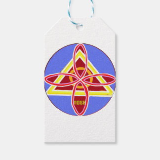 NOSA Karuna Reiki Healing Symbol Graphic Art Pack Of Gift Tags