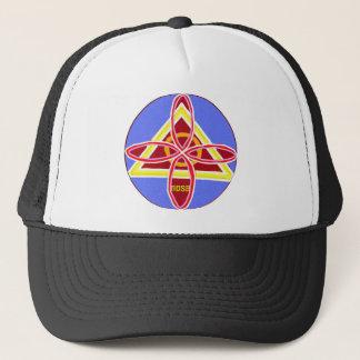 NOSA Karuna Reiki Healing Symbol Graphic Art Trucker Hat