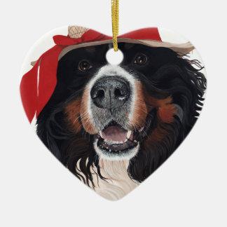 Nose 4 Fashion Ceramic Heart Ornament
