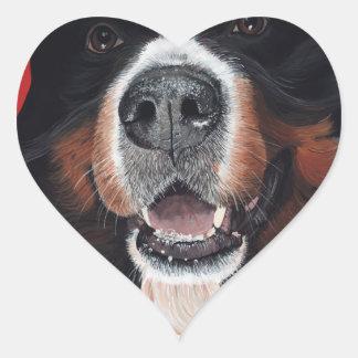 Nose 4 Fashion Heart Sticker