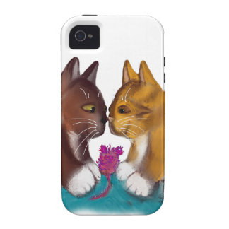 Nose to Nose over the Mouse Toy Case-Mate iPhone 4 Cases