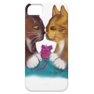 Nose to Nose over the Mouse Toy iPhone 5 Case