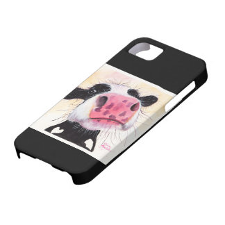 Nosey Cow 'Betty Blueberry' Iphone Case Various
