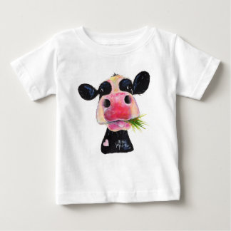 Nosey Cow 'HURLEY BURLEY ' Baby Fine T-Shirt
