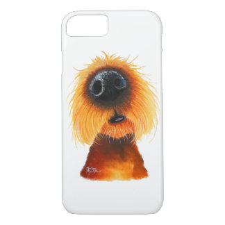Nosey Dog ' SMELLS LiKe SuNSHiNe ' by Shirley Mac iPhone 8/7 Case