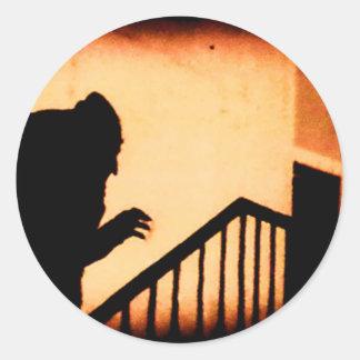 Nosferatu Classic Round Sticker