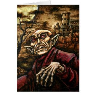 Nosferatu Halloween Card
