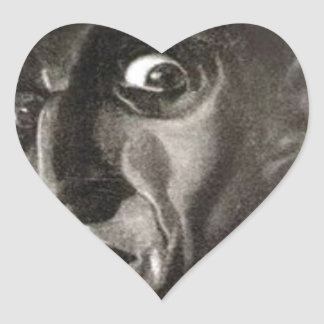 Nosferatu Heart Sticker