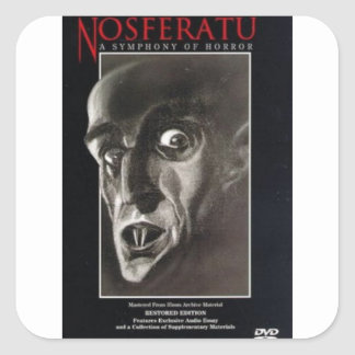 Nosferatu Square Sticker