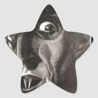 Nosferatu Star Sticker