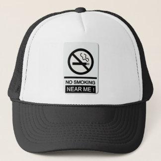 nosmoking full trucker hat