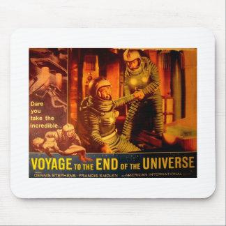 Nostalgia: 1960s Sci-fi Lobby Card Mouse Pad