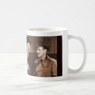 Nostalgia: Charlie Chan Basic White Mug