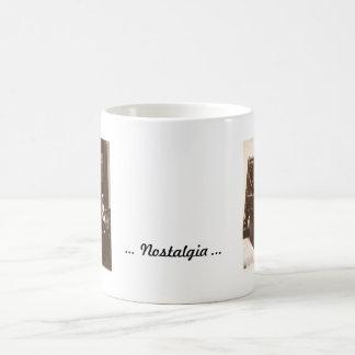 Nostalgia Classic White Coffee Mug