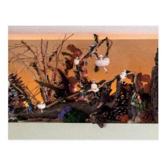 Nostalgia Garden | Enchanted Alcove 500 Postcard