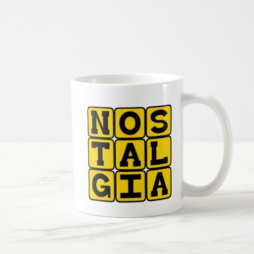 Nostalgia, Longing For The Past Coffee Mugs
