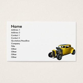 Nostalgia Rod Business Card