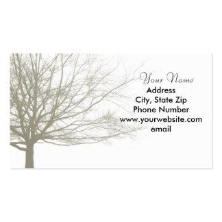 Nostalgia Tree Business Card