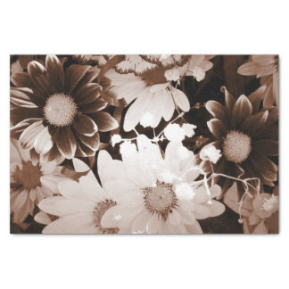 nostalgia western country wildflower summer daisy tissue paper