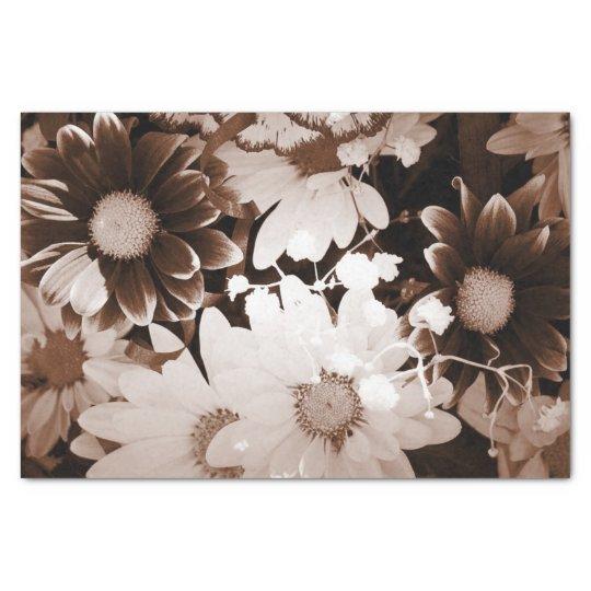 nostalgia western country wildflower summer daisy tissue paper