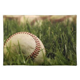Nostalgic Baseballs Placemat