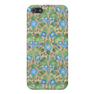 Nostalgic Blue Morning Glory Iphone 5c Case