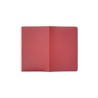 Nostalgic Crimson Pocket Moleskine Notebook