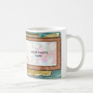 Nostalgic Cycling Themed Photo Coffee Mug