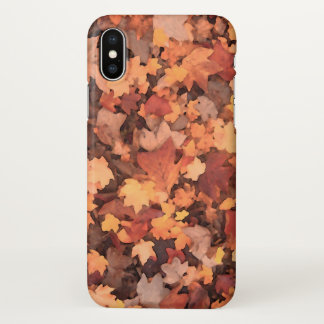 Nostalgic Fall Foliage | iPhone X Case