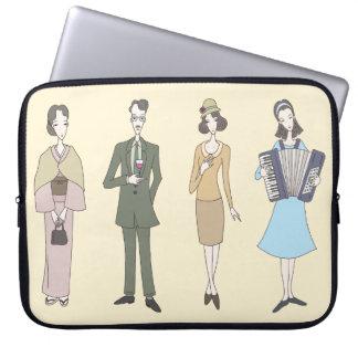 Nostalgic fashion laptop sleeve