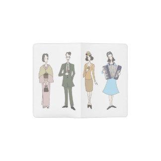 Nostalgic fashion pocket moleskine notebook