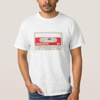 Nostalgic music lover bold cassette graphic T-Shirt