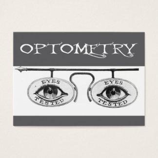 Nostalgic Optometry Business Card