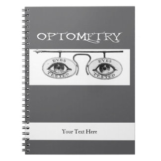 Nostalgic Optometry Notebook