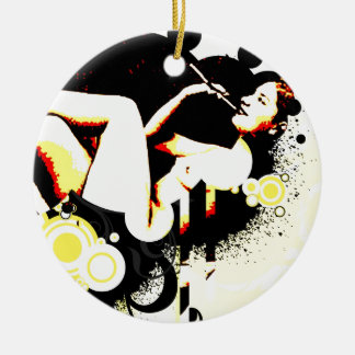 Nostalgic Seduction - Bubble Fantasy Ceramic Ornament