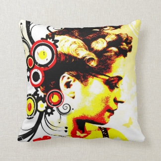 Nostalgic Seduction - Butterfly Enchantment Throw Pillow