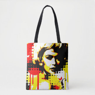 Nostalgic Seduction - Butterfly Headcase Tote Bag
